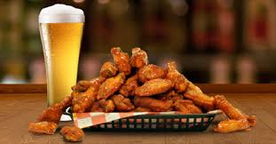 Drinks and Chicken Wings