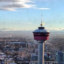 Calgary Tower Lunch