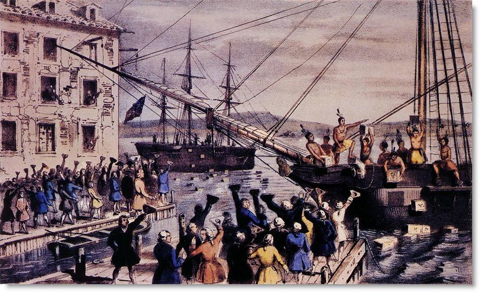 Boston Tea Party Reenactment
