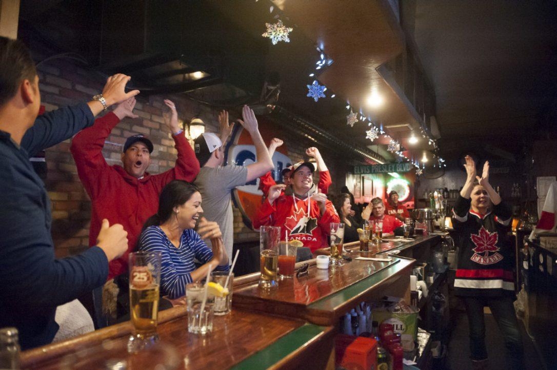 Pub for Raptors Opener