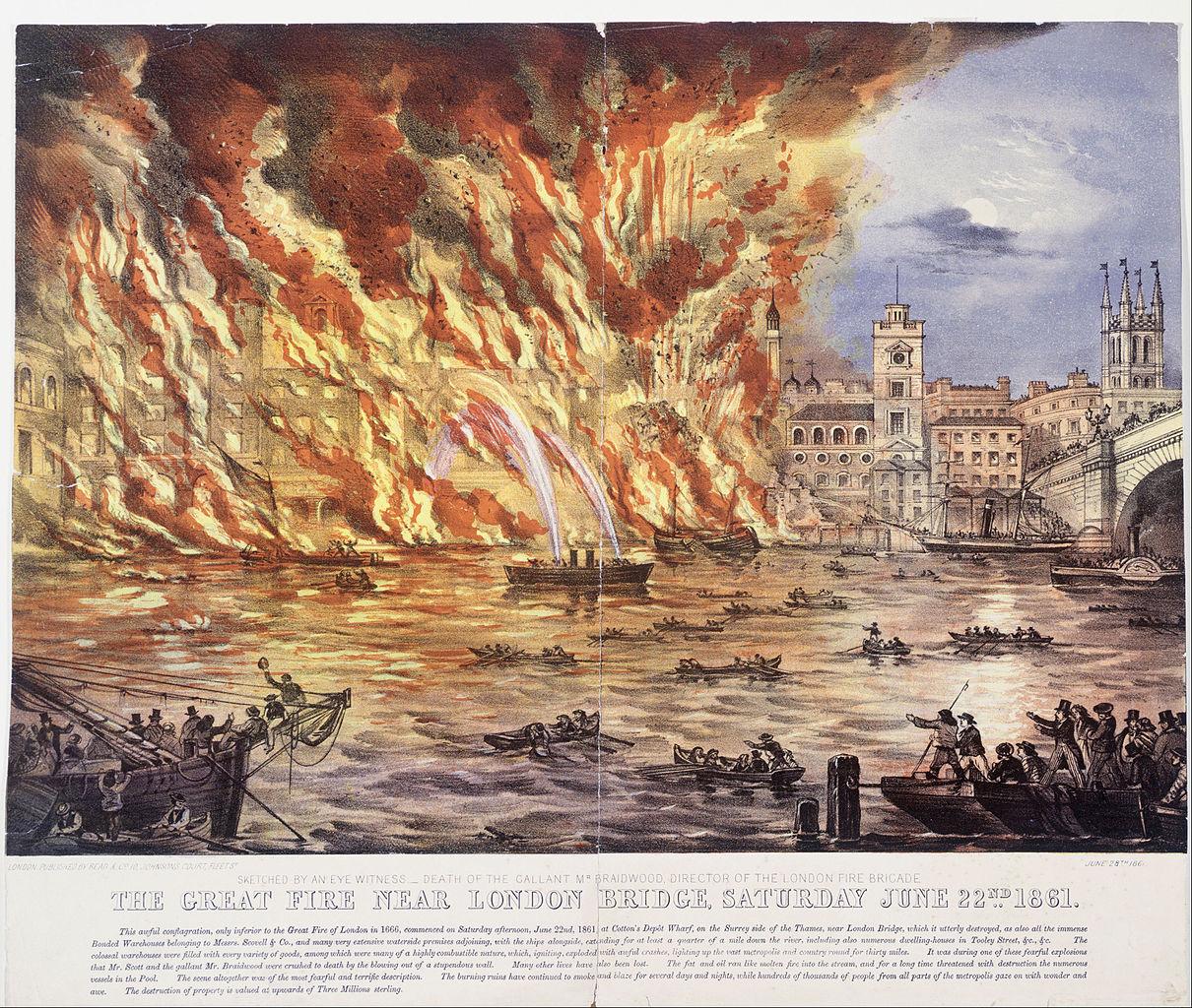 Great Fire of London Walk