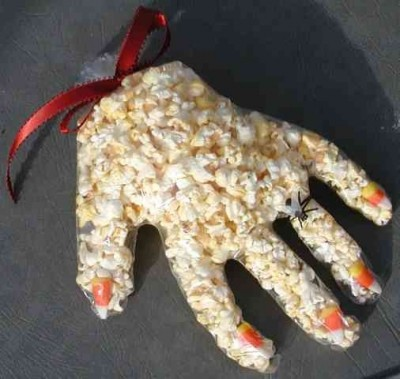 Make Edible Zombie Hands