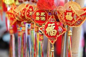 Lunar New Year Decorating