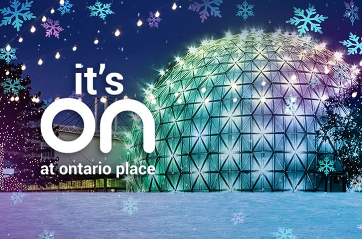 Winter at Ontario Place