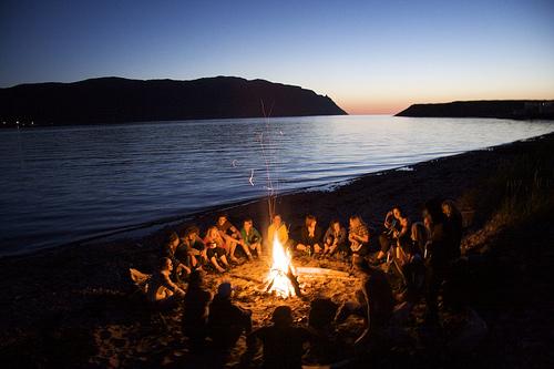 Bonfire and Games