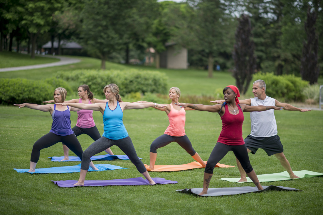 Yoga at the Park