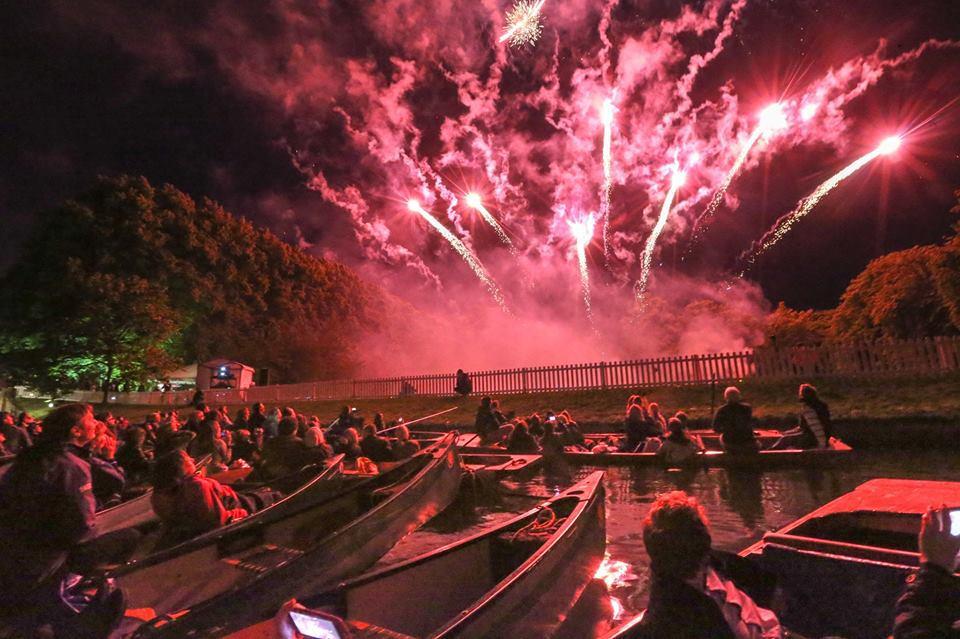Fireworks Punting