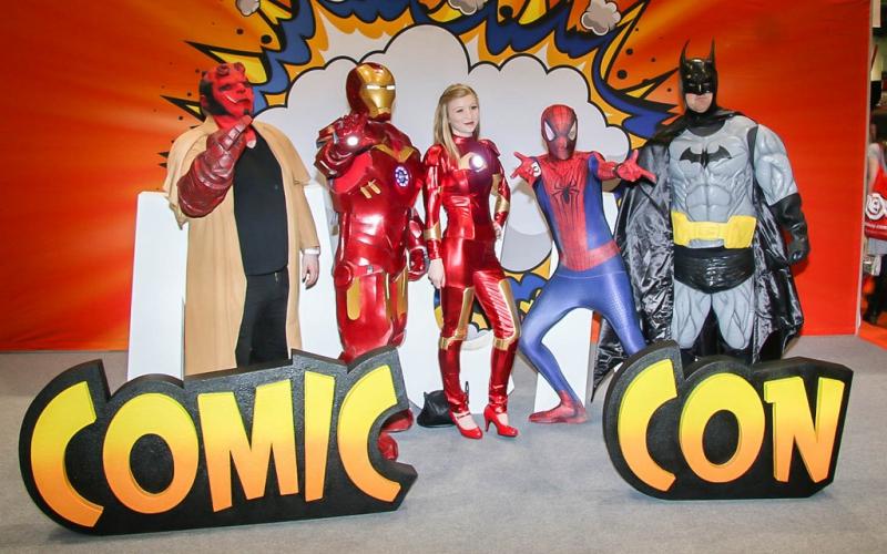 Explore Comic-Con