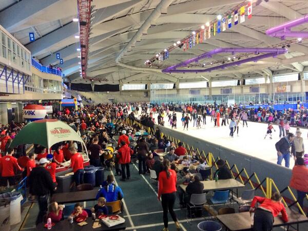 Skating Olympic Oval