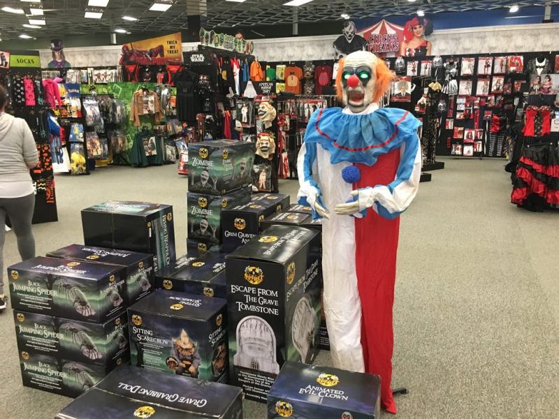 Haloween Costume Shopping