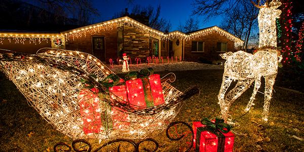 Christmas Lights Walk