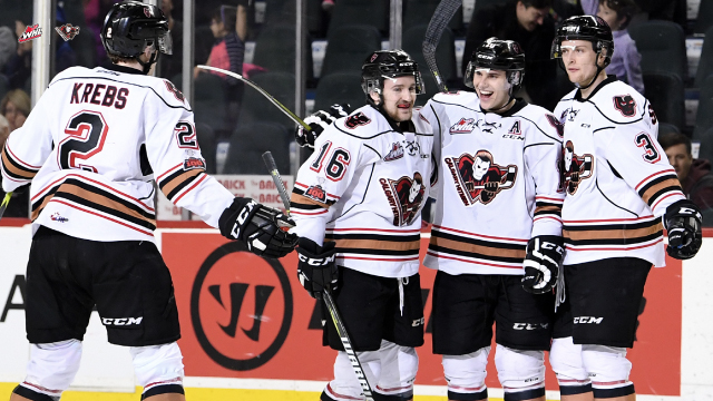 Calgary Hitmen vs Edmonton Oil Kings