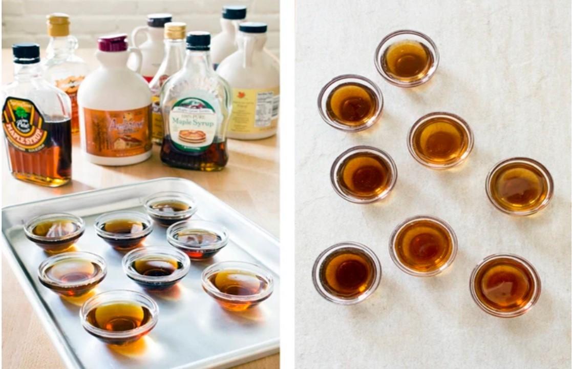 Maple Syrup Tasting