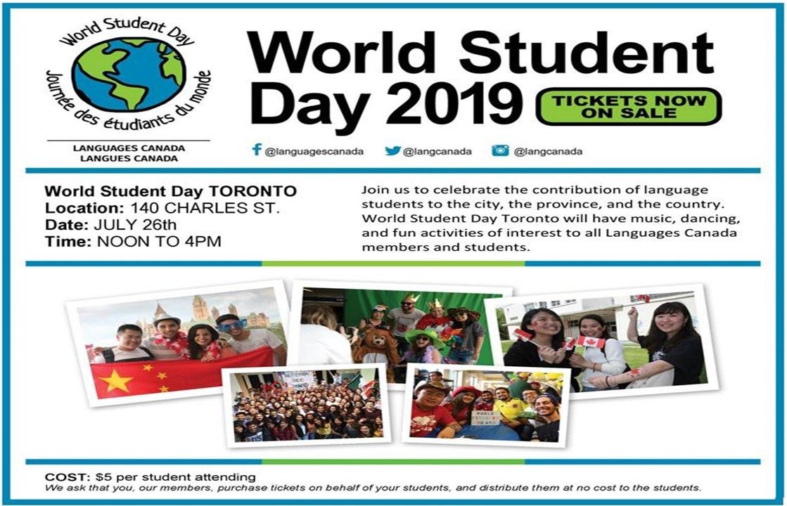 World Student Day Tickets!