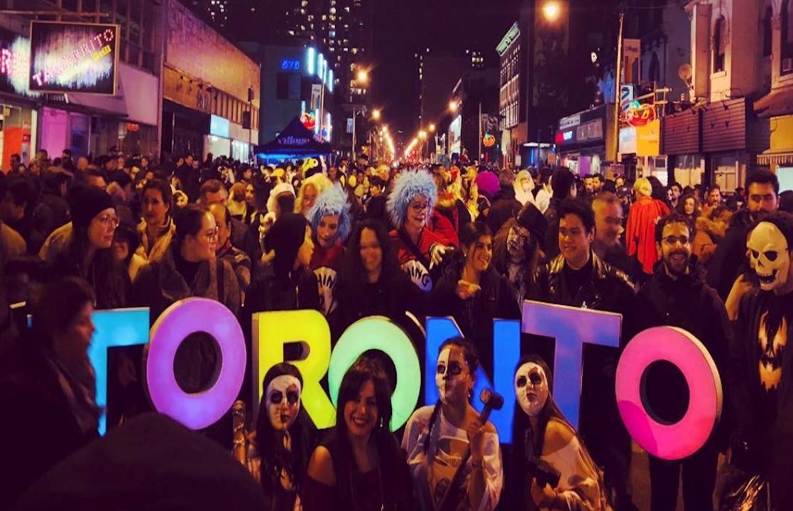 Halloween Street Party on Church Street