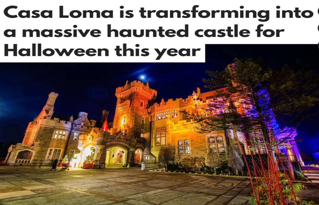 Casa Loma Halloween Haunted Castle