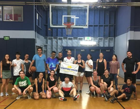 Basketball with Teacher Stephan