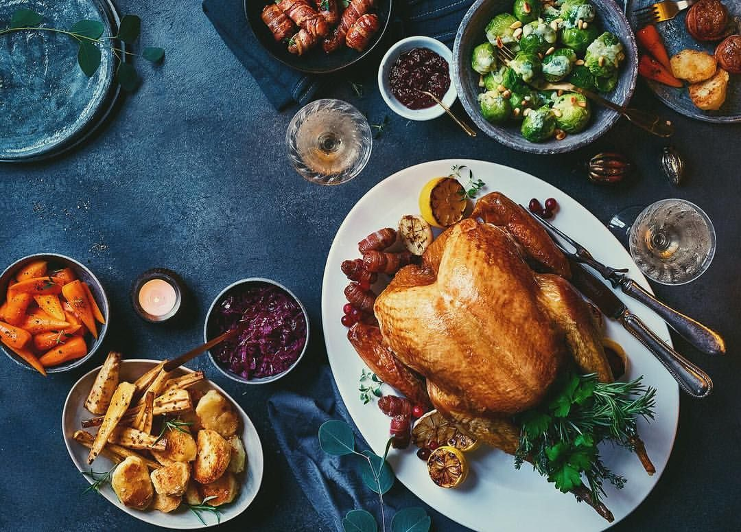 Traditional Christmas Dinner @ 12:30