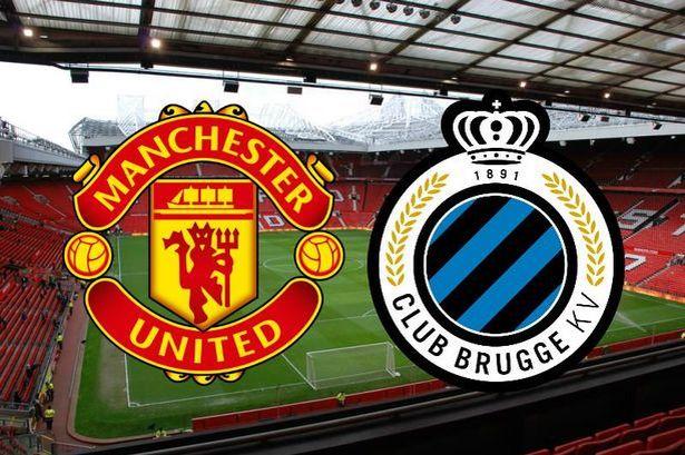 Man United vs Club Brugge