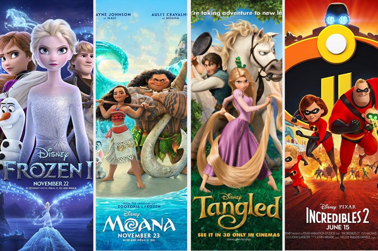 Disney Movie Marathon!