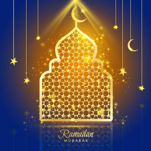 Ramadan decorating