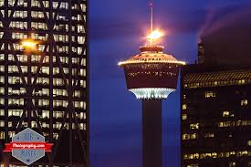 Calgary Tower (Night)