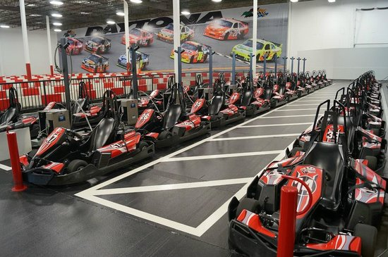Speeders-Indoor Prokarts