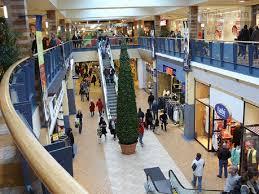 Shopping at Chinook Mall