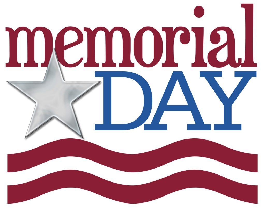 Memorial Day: No School