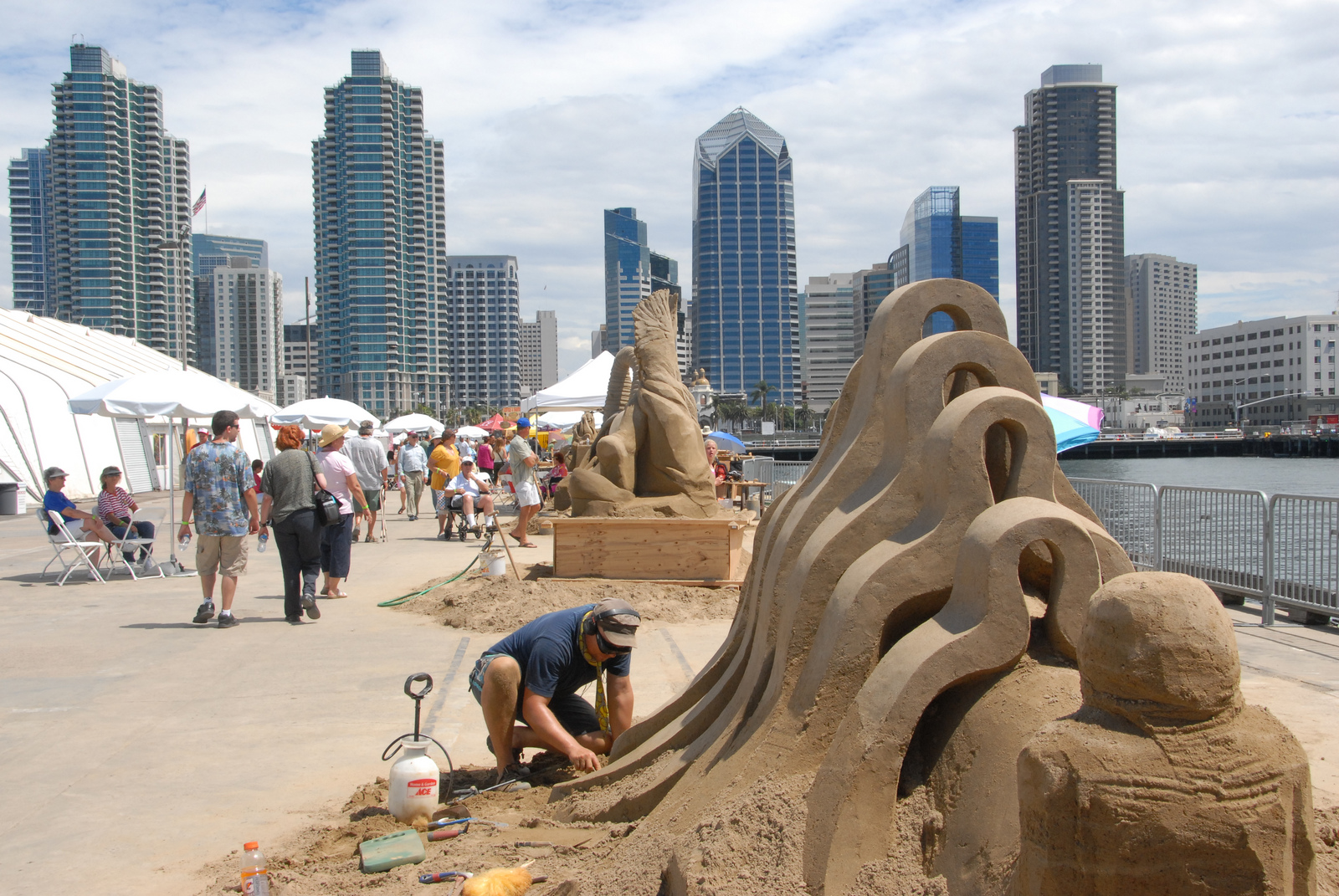 US Sand Sculpting Expo
